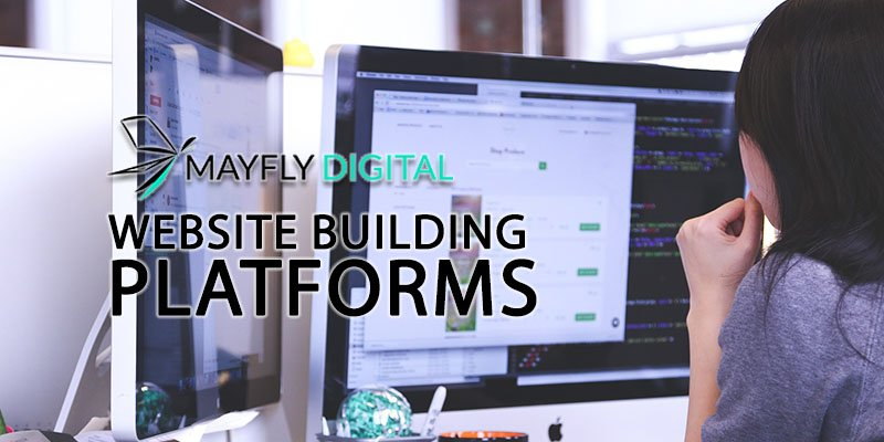 Which website building platform to choose.